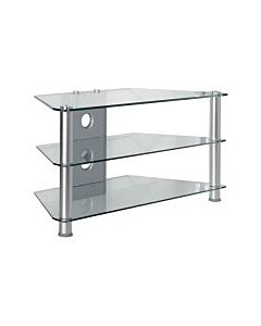 """20"""" - 32"""" 3 Tier Glass TV Stand TVM-021"""