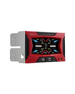 AeroCool Strike-X Panel Touch Screen 5 Fan Controller 2 x USB