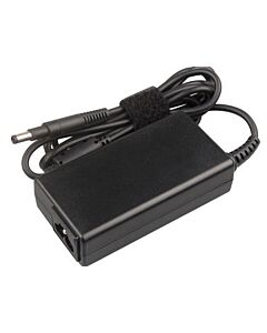 """Replacement HP / Compaq 19.5V 3.33A PSU (4.8"""" X 1.7"""" - with Long Tip) with power cable"""