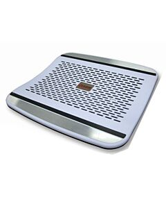 White Plastic Laptop Cooler - JM-20839