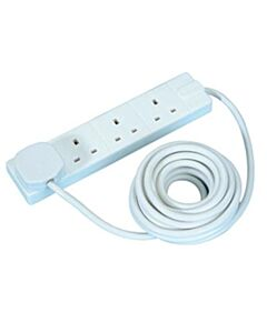 Masterplug 4 Socket Extension Lead - 5m (BFG5-MP)
