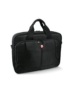 Port Designs London Toploading Laptop Carry Case (Black) for 14 inch to 15.6 inch Laptop - 160509