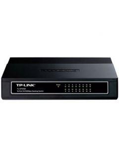 TP Link 16 Port 10/100Mbit Desktop Plastic Switch - TL-SF1016D v.5.0