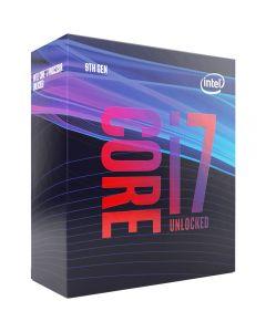 Intel Core i7 9700K, s1151, Coffee Lake Refresh, 8 Core, 8 Thread, 3.6GHz, 4.9GHz Turbo, 12MB, 1200MHz GPU, 95W, Retail Box - No Cooler - BX80684I79700K