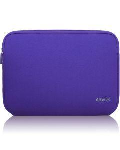 Arvok 15 15.6 Inch Water-resistant Neoprene Laptop Sleeve - Purple