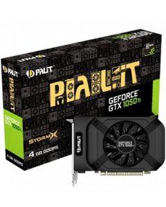 Palit GeForce GTX 1050 Ti StormX 4GB GDDR5 Graphics Card, 768 Core, 1290MHz GPU, 1392MHz Boost - NE5105T018G1-1070F