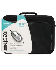 TechAir Notebook Case 15.6 Inch + Optical Mouse - TABUN29Mv3