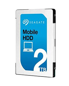 """2TB Seagate ST2000LM007 Mobile HDD, 2.5"""" Internal HDD, 7 mm Thickness, SATA III 6Gb/s, 5400rpm, 128MB Cache, 5400RPM"""