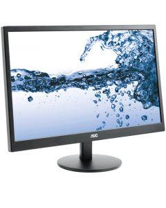 AOC e2270SWDN 21.5in Widescreen LED Black Monitor, 1920x1080, 5ms, VGA/DVI