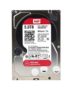 WD RED 5TB NAS Hard Disk Drive 5400 RPM Class SATA 6 Gb/s 64MB Cache WD50EFRX - Recretified 1 Year RTB Wty