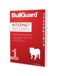 Bullguard Internet Security 2017 Soft Box, 1 User (Single), Soft Box, Windows Only, 1 Year - BG1606-S
