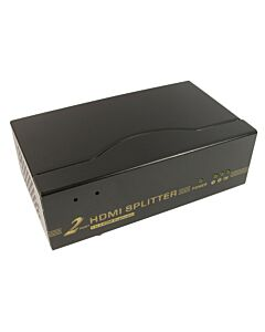 NEWlink HDMI Splitter with 3D support ( duplicates & boosts image on to 2 screens ) - NLHDSP202-3D