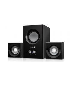 TRUST SW-2.1 375 2.1 Speaker System 12W (6W Sub + 2 x 3W) Black, Mains Powered, 3.5mm Jack -  31731066100