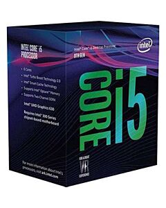Intel Core i5 8600K, s1151, Coffee Lake, 6 Core, 6 Thread, 3.6GHz/4.3GHz Turbo, 9MB Cache, 1150MHz GPU, 95W, CPU, OEM (No Box / No Cooler) - CM8068403358508