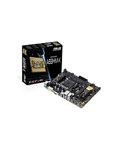 Asus A68HM-K, FM2+, DDR3, SATA III 6Gb/s, SATA RAID, PCIe 3.0 (x16), D-Sub/DVI-D,Gbit Lan, 8Ch HD Audio - Micro ATX
