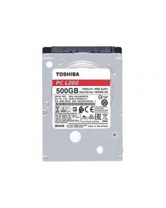 """Toshiba 2.5"""", 500GB, SATA3, L200 Hard Drive, 5400RPM, 8MB Cache, 9.5mm - HDWJ105UZSVA"""