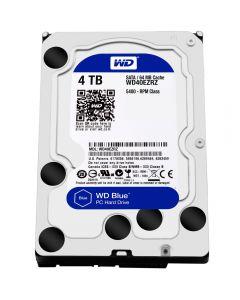 """4TB WD Blue, 3.5"""" HDD, SATA III - 6Gb/s, 5400 RPM, 64MB Cache - WD40EZRZ"""
