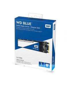 1TB WD Blue 3D, M.2 (2280) SATA III 6Gb/s SSD, 3D NAND, Read 560MB/s, Write 530MB/s, 95k/84k IOPS - WDS100T2B0B
