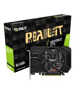 Palit GeForce GTX 1660 StormX 6GB GDDR5(8000MHz - 192bit), VR Ready Graphics Card, GPU Cores - 1408 Core, GPU Clock - 1530MHz/1785MHz(Boost), DVI-D/D.Port1.4/HDMI2.0 - NE51660018J9-165F