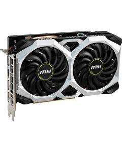 MSI GeForce GTX 1660 VENTUS XS OC 6GB GDDR5(8000MHz - 192bit), VR Ready, GPU Cores - 1408, GPU Clock - 1530MHz/1830MHz(Boost), 3xD.Port 1.4/1xHDMI 2.0b - GeForce GTX 1660 VENTUS XS 6G OC