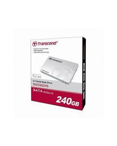 """Transcend SSD220 240GB 2.5"""" TLC SSD , SATA 6Gb/s , 550 MBps (read) / 450 MBps (write) , 80000 IOPS - TS240GSSD220S"""