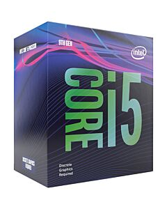 Intel Core i5 9400F, s1151, Coffee Lake Refresh, 6 Core, 6 Thread, 2.9GHz, 4.1GHz Turbo, 9MB, NO integrated Graphics, 65W, Retail Box with Cooler - BX80684I59400F
