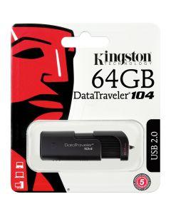 64Gb Kingston DataTraveler 104 USB2.0 - DT104/64GB