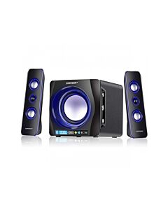 Sumvision n-Cube Pro2 2.1 SubSet with LEd light effect, Bluetooth/3.5mm Jack  (15W) - 6931992101113