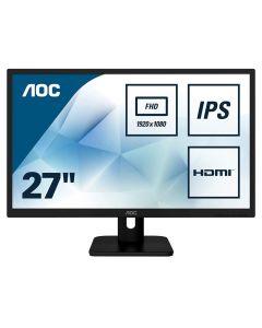 27in AOC 27E1H IPS WLED, 1920x1080, 5ms, 250cd/m, 60Hz, 1x HDMI/1xD-Sub (VGA), Black