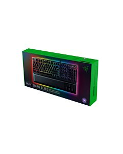 Razer Huntsman Elite Chroma Gaming Keyboard, Razer Opto-Switches, RGB, 10 Key Rollover, USB - RZ03-01870300-R3W1