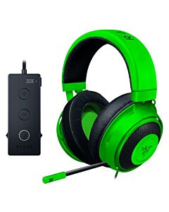 Razer Kraken Tournament Edition GREEN - Wired Gaming Headset & Mic with USB Audio Controller, Custom-Tuned 50 mm Drivers, THX Spatial Audio - RZ04-02051100-R3M1