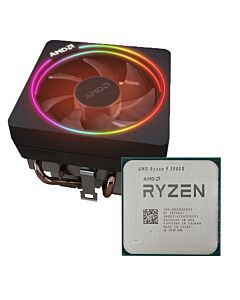AMD Ryzen™ 9 3900X, AM4, 12 Core, 24 Thread, 3.8GHz/4.6GHz Turbo, 64MB L3, PCIe 4.0, 105W, oem with Wraith Prism Cooler - 100-100000023
