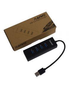 Maiwo KH304 4 Port USB 3.0 Hub & Charger