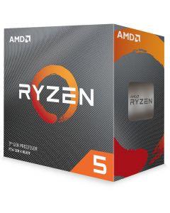 AMD Ryzen 5 3600, AM4, 6 Core, 12 Thread, 3.6GHz/4.2GHz(Turbo), 32MB L3, PCIe 4.0, 65W, Retail Box with Wraith Stealth - 100-100000031BOX