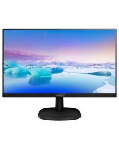 "Philips 273V7QJAB/00 27"" Monitor, 1920 x 1080 Full HD, HDMI/VGA/D.Port, 60Hz, 5ms, IPS, 10M:1, Spks"