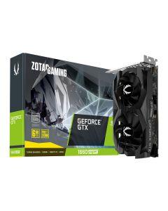 Zotac GeForce GTX 1660 SUPER Twin Fan, 6GB GDDR6 (14000MHz - 192bit), GPU Cores - 1408, GPU Clock - 1530MHz/1785MHz(Boost), 3xD.Port1.4/1xHDMI2.0b - ZT-T16620F-10L