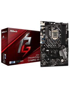 Asrock Z390 PHANTOM GAMING 4S, s1151, Full ATX, 4xDDR4, CrossFire, HDMI, USB 3.2, RGB Lighting, M.2