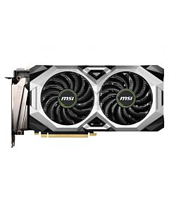 MSI GeForce RTX 2080 SUPER VENTUS XS OC with Ray Tracing, 8GB GDDR6 (14000MHz - 256bit), Dual Fan, GPU Cores - 3072, GPU Clock - 1650MHz/1830MHz(Boost), 1xD.Port/3xHDMI2.0b