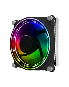 GameMax Gamma 300 Rainbow ARGB CPU Cooler Aura Sync 3 Pin - 6931858779791