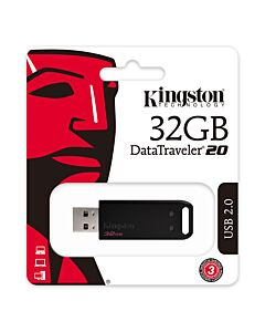 32Gb Kingston DataTraveler 20 USB2.0 - DT20/32GB