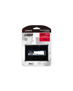 Kingston A2000, 1Tb M.2 (2280) PCIe 3.0 (x4) NVMe SSD, 2200MB/s Read, 2000MB/s Write, 3250k/220k IOPS - SA2000M8/1000G