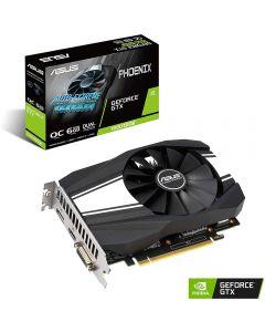 ASUS GeForce GTX 1660 SUPER PHOENIX OC 6GB GDDR6(14000MHz - 192bit), VR Ready, GPU Cores - 1408 , GPU Clock - 1530MHz/1800MHZ(Boost), D.Port1.4/HDMI2.0/DVI-D - PH-GTX1660S-O6G