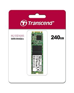 Transcend 820S 240GB M.2-2280 SATA III SSD, Up to 550MB/s Read, 500MB/s Write -  TS240GMTS820S