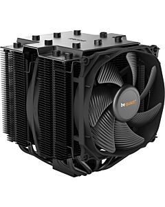 be quiet! Dark Rock PRO 4 Dual Tower CPU Cooler, 7 Heatpipes, 120mm+135mm Silent Wings PWM Fans, Aluminium/Copper, 250W TDP - BK022