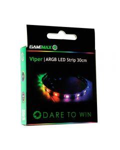 GameMax Viper ARGB 30cm Strip 3pin Aura Sync 15 LED - GMX VIPER30CM ARGB