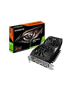 Gigabyte GTX 1660 SUPER OC, 6GB GDDR6(14000MHz-192bit), Twin Fan, GPU Cores - 1408 Cores, GPU Clock - 1530MHz/1830MHz(Boost), 3xD.Port1.4/1xHDMI2.0b - GV-N166SOC-6GD