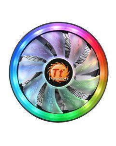 ThermalTake UX100, 120mm ARGB LED Fan,1800rpm, 38.82 CFM, PWM, Aluminium Fins - CL-P064-AL12SW-A