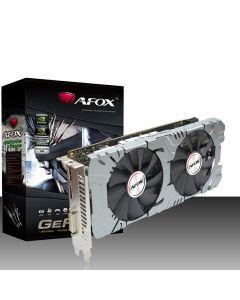 AFox GeForce GTX 1660 Ti 6GB GDDR6(12000MHz-192bit), Dual Fan, VR Ready, GPU Cores - 1536, GPU Clock - 1500 MHz/1770MHz(Boost) - AF1660TI-6144D6H1