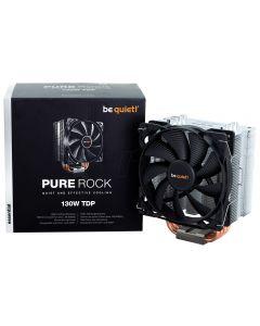 Be Quiet! Pure Rock Single Tower Heatsink & Fan, Intel & AMD/AM4, 12cm PWM Fan, 4 Heatpipes, 150W TDP - BK009