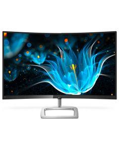 "Philips 32"" Curved LCD Monitor, Black/Silver, 1920 x 1080 Full HD, HDMI/VGA/D.Port, 75Hz, 5ms - 328E9QJAB/00"